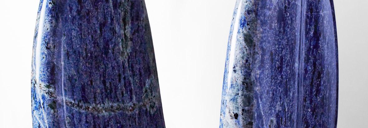 天地の心 ブラジル産青色花崗岩